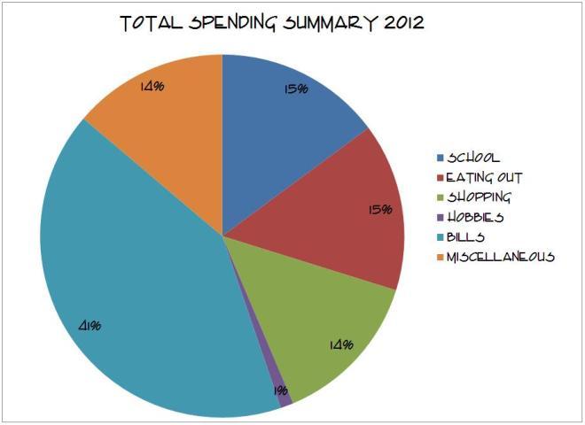 summary spending
