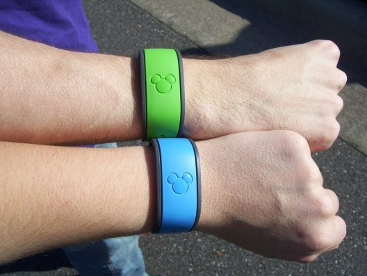 Fancy magic bands! #betatesting